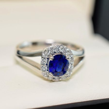 sapphire custom jewelry in winnipeg