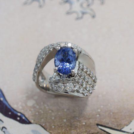 custom diamond and sapphire jewelry winnipeg