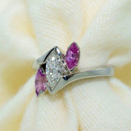 sapphire solitaire ring winnipeg
