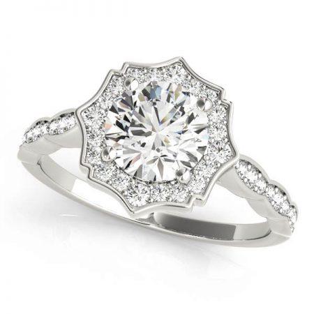 vintage halo engagement rings winnipeg