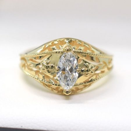 vintage marquise solitaire