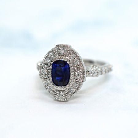 blue sapphire rings winnipeg