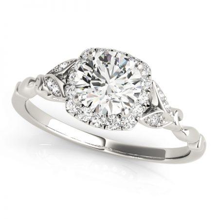 cushion halo unique engagement rings