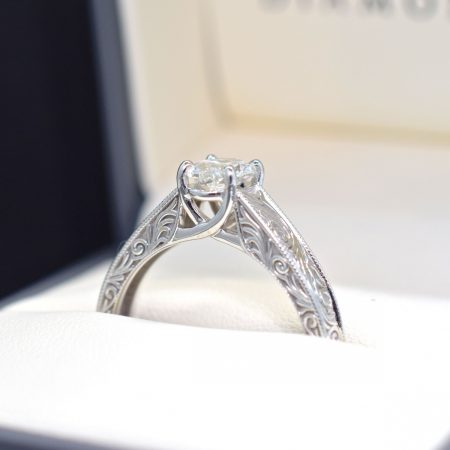 popular vintage engagement ring