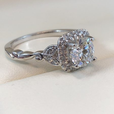 white gold engagement ring winnipeg