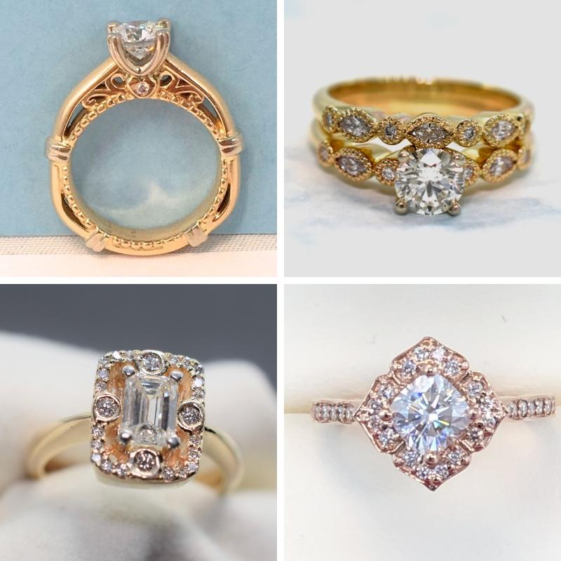 Antique Engagement Rings Winnipeg - Omori Diamonds