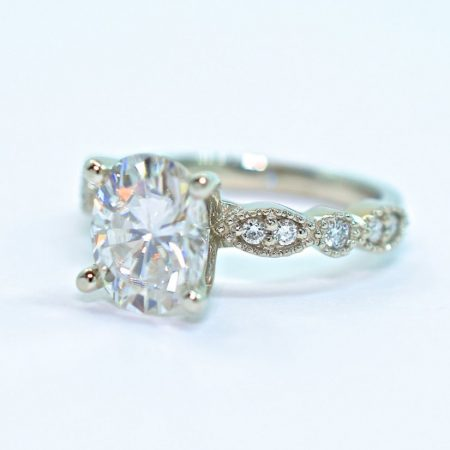 unique oval engagement ring winnipeg