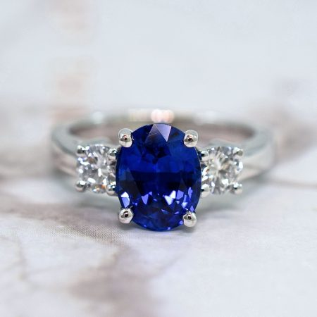 oval sapphire engagement ring winnipeg