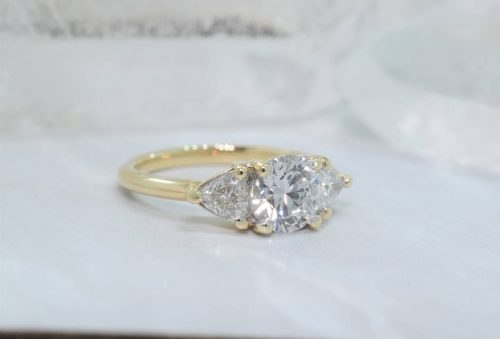 yellow gold engagement ring winnipeg