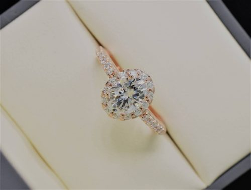 most popular oval engagement rings on instagram