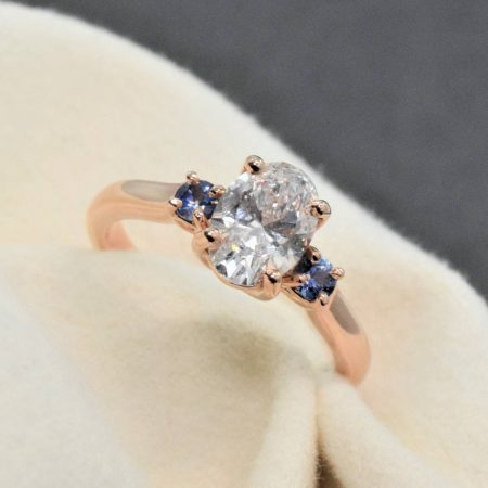 oval engagement rings on instagram
