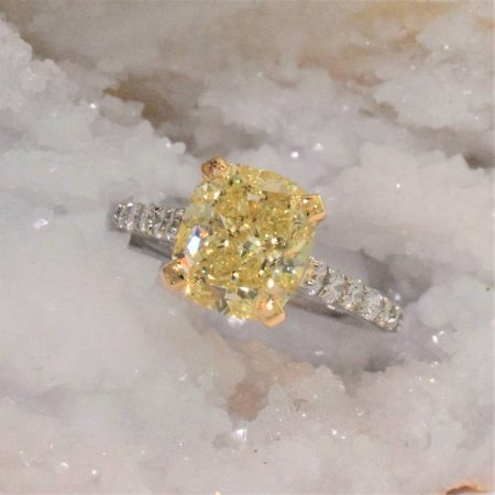 natural yellow diamonds winnipeg