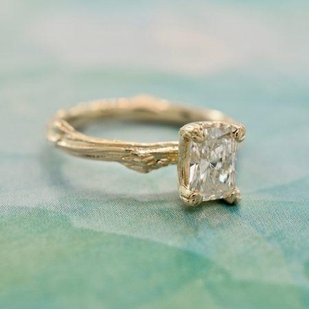 winnipeg nature engagement ring