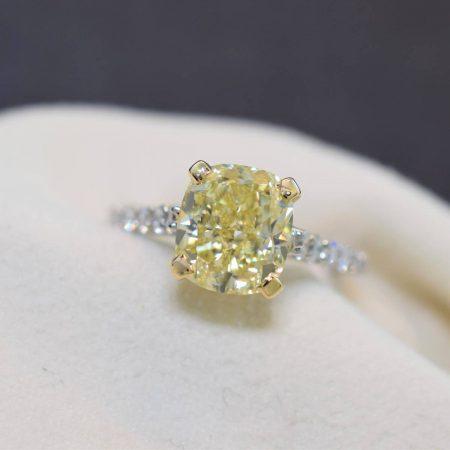 canary yellow diamonds winnipeg
