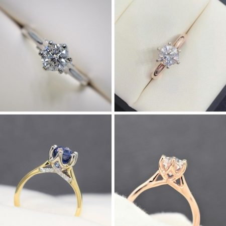solitaire engagement rings online