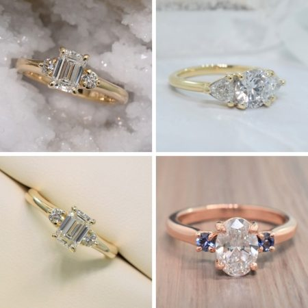 three stone engagement rings online winnipeg